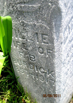 Susan P Millie <i>Huyck</i> Burdick
