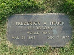 Frederick A Heuer