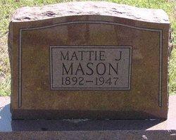 Mattie Jane <i>Barnett</i> Mason