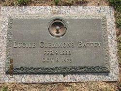 Lucile <i>Clemmons</i> Battey