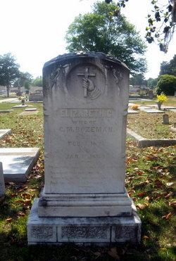 Elizabeth C. <i>Farmer</i> Bozeman