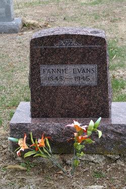 Fannie <i>Simmerman</i> Evans