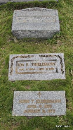 John T Klussmann