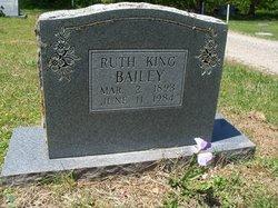 Ruth <i>King</i> Bailey
