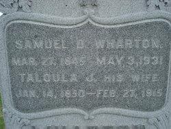 Samuel D Wharton