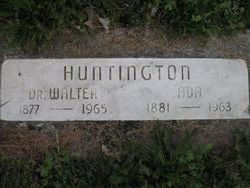 Dr Walter Huntington