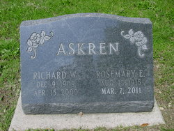 Rosemary E <i>Hiland</i> Askren