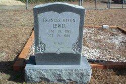 Frances <i>Lewis</i> Dixon
