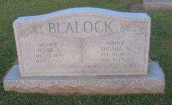Jessie L Blalock