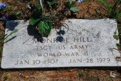 Sgt Monroe Hill