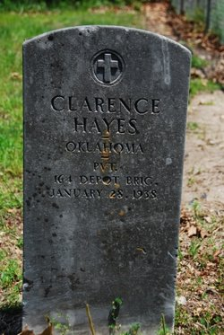 Pvt Clarence Hayes