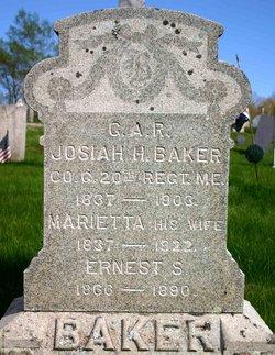 Josiah H Baker