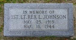 1Lt Rex Leo Johnson