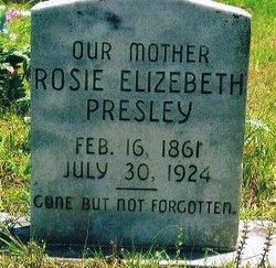 Rosella Elizebeth Rosie Presley