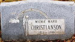 Wilma Marie <i>Ramsdell</i> Christianson