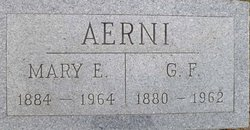 Mary Ethel <i>Shipman</i> Aerni