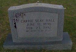 Carrie <i>Warhurst</i> Hall