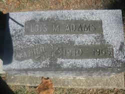 Lois Marion Adams