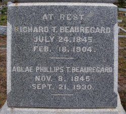 Aglae Josephine <i>Phillips</i> Beauregard