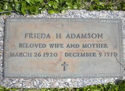 Frieda H Adamson