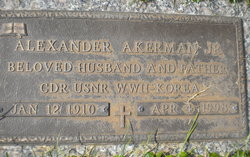 Alexander Akerman, Jr