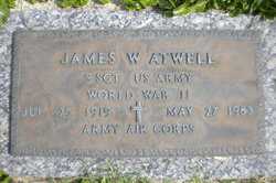 Sgt James W Atwell