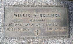 Pvt Willie A Belcher
