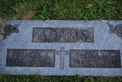 Edna L <i>Thomas</i> Adams