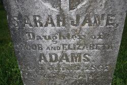 Sarah Jane Adams
