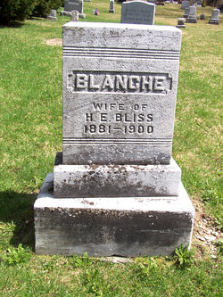 Blanche E <i>Howes</i> Bliss