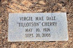 Virgie Mae <i>Tillotson</i> Cherry