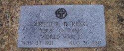 Arthur D King