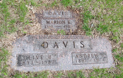 Olive B Davis
