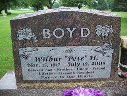 Wilbur Harold Pete Boyd