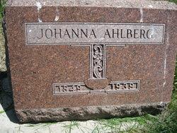 Johanna Ahlberg
