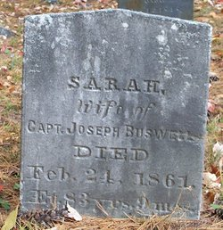 Sarah <i>Ingalls</i> Buswell