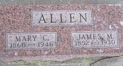 Mary C <i>Wilson</i> Allen