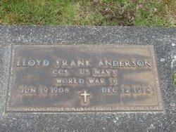 Lloyd Frank Anderson