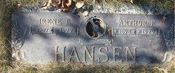 Irene Esther <i>Pagel</i> Hansen
