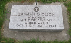Sgt Truman O. Olson