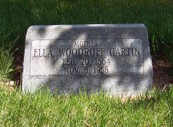 Ella Louise <i>Woodruff</i> Gartin