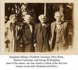Elizabeth <i>Hoagland</i> Armitage