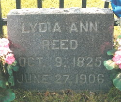 Lydia Ann <i>Kirkpatrick</i> Reed
