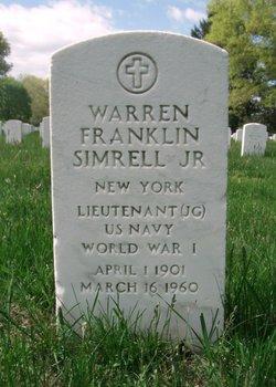 Warren Franklin Simrell, Jr