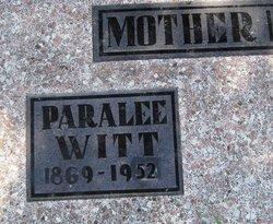 Paralee <i>London</i> Witt