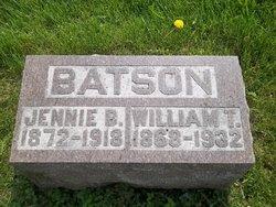 Jennie B <i>Hart</i> Batson