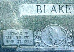 Edward Walter Blake