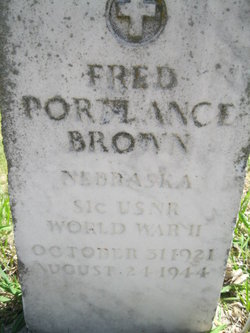 SMN Fred Portlance Brown