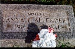 Anna Laura <i>Miller</i> Allender