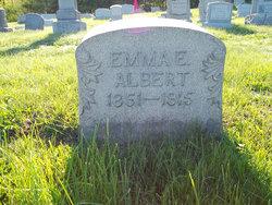 Emma E <i>Fisher</i> Albert